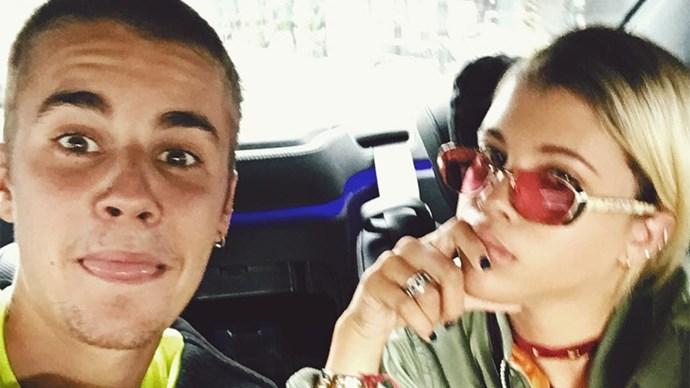 Justin Bieber Sofia Richie Instagram