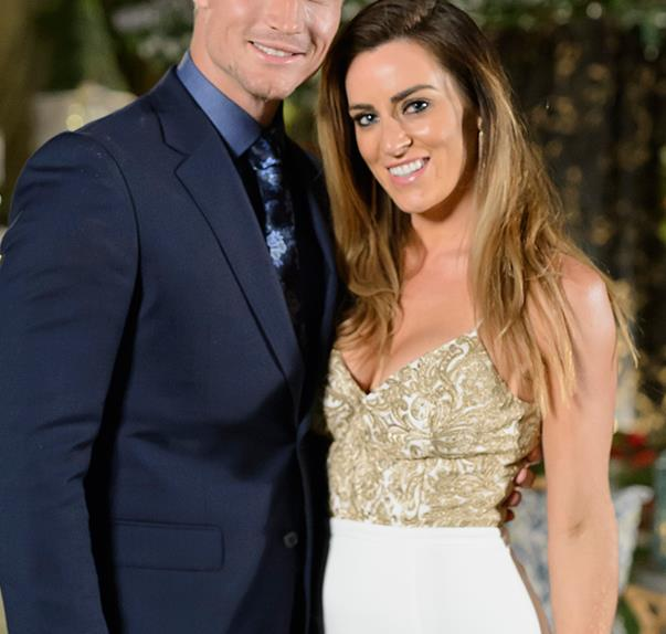 Rachael Gouvignon and Richie Strahan on The Bachelor Australia 2016
