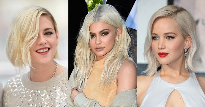 <p>Tempted to go platinum blonde? The following celebrities will inspire you.
