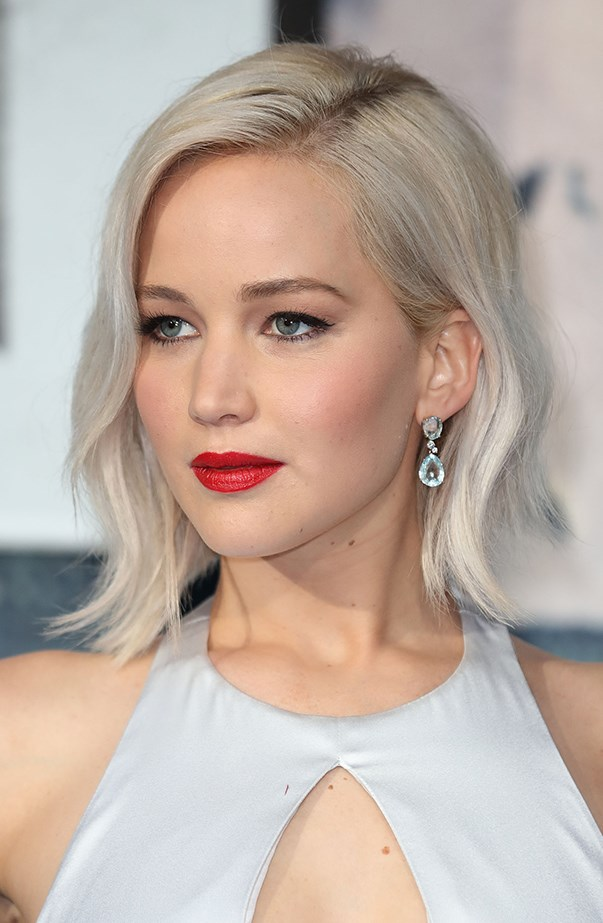 <p>Jennifer Lawrence went through a bit of a white blonde moment on the promo tour for <em>X-Men: Apocalypse</em>.