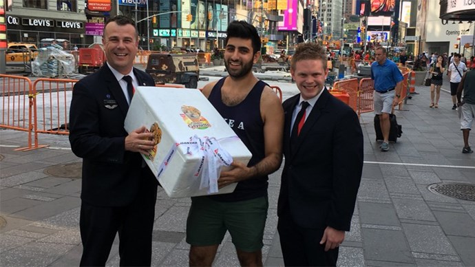 Australian Adam Moussa Gets His Gaynettos in New York