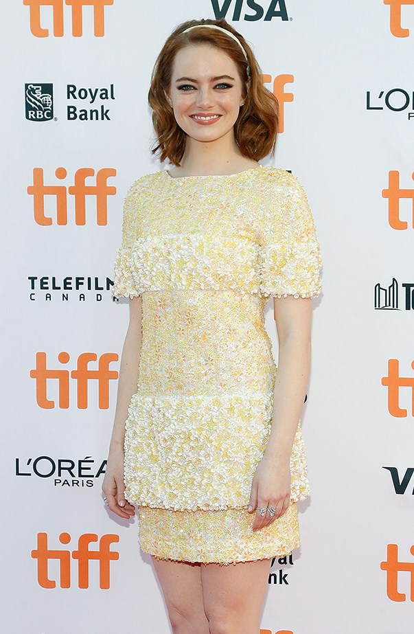 Emma Stone at the 2016 Toronto International Film Festival