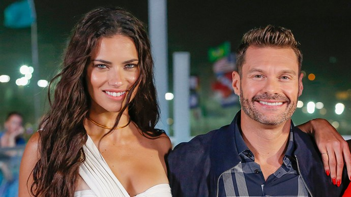Adriana Lima and Ryan Seacrest at 2016 Rio Olympics