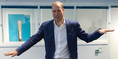 Prince William Trying To Do The 'Shoulder Shiver' Is Everything