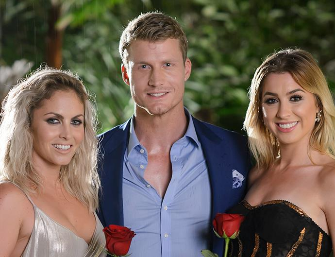 Nikki Gogan, Richie Strahan, Alex Nation on The Bachelor Australia 2016