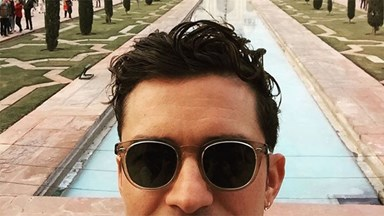 We Can Now All Follow Orlando Bloom's Previously-Private Instagram