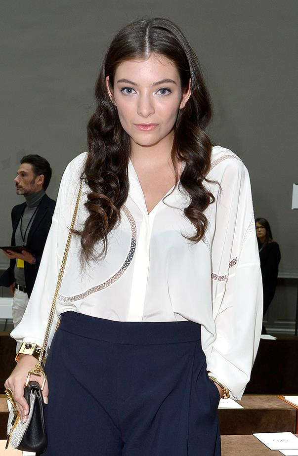 <p>Lorde's real name is Ella Yelich-O'Connor.