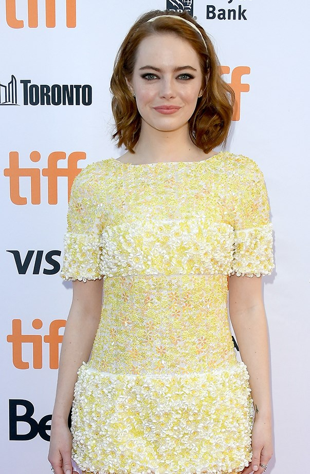 <p>Emma Stone's real name is Emily Jean Stone.