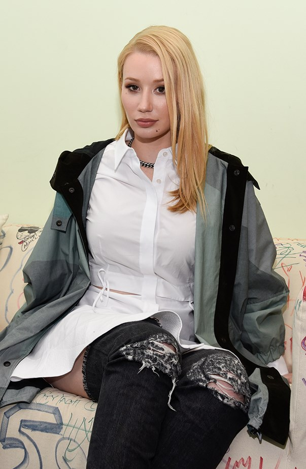 <p>Iggy Azalea's real name is Amethyst Amelia Kelly.