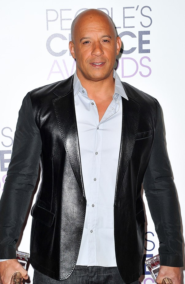 <p>Vin Diesel's real name is Mark Sinclair.