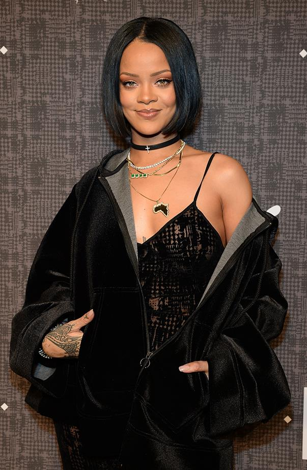 <p>Rihanna's real name is Robyn Rihanna Fenty.