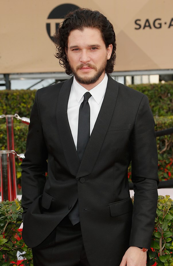 <p>Kit Harington's real name is Christopher Harington.