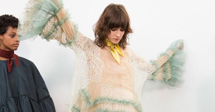 chloe fw16 backstage paris fashion week