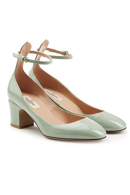 """The midi heel is both pretty and practical. Win. <br><br>Pumps, $694, <a href=""""http://www.stylebop.com/au/product_details.php?id=683464"""">Valentino at stylebop.com </a>"""