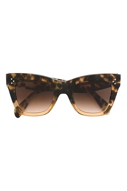 """Cat-eye styles are effortlessly chic. <br><br>Sunglasses, $470, <a href=""""https://www.farfetch.com/au/shopping/women/celine-eyewear-cat-eye-sunglasses-item-11493301.aspx?storeid=10155&from=listing&rnkdmnly=1&ffref=lp_pic_117_4_"""">Celine at farfetch.com</a>"""