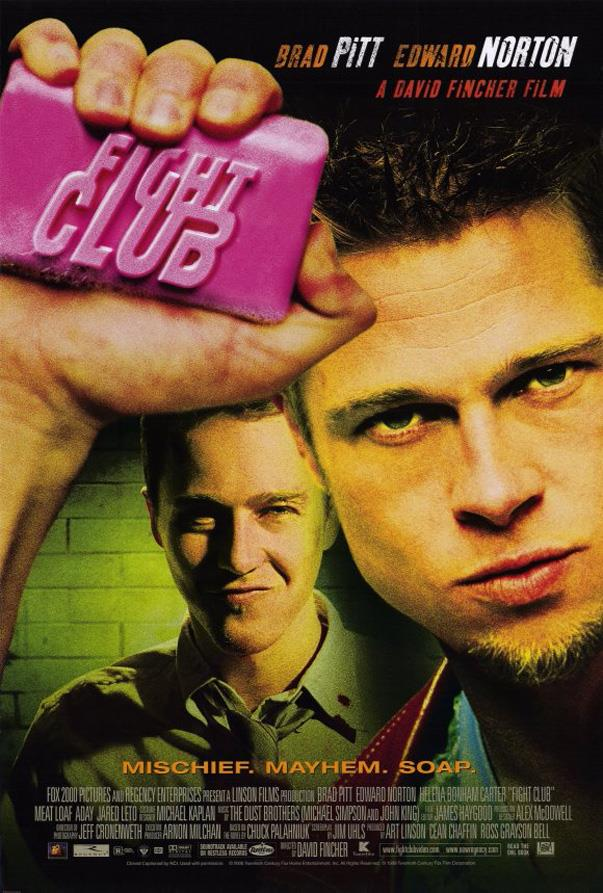 <p><strong><em>Fight Club</em> (1999)</strong><p><br> Another Brad Pitt classic. He's also shirtless A LOT.