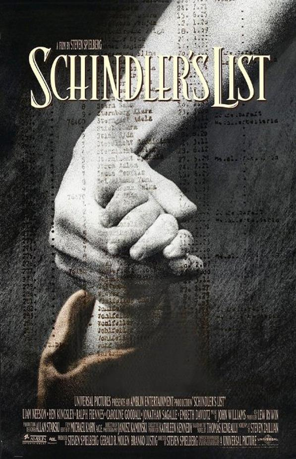 <p><strong><em>Schindler's List</em> (1993)</strong><p><br> This film, which took Steven Speilburg 10 years to make, won seven Oscars and Jewish hearts worldwide.