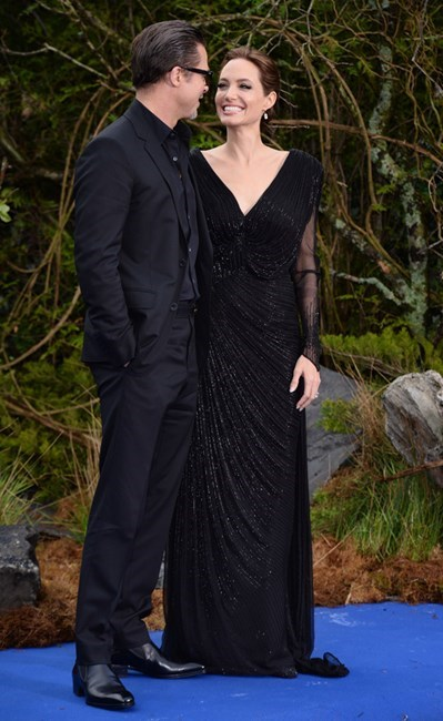 """In an interview with U.S. Today in late 2014, Angelina said, """"We have more moments where I say, 'I'm going to be a better wife,' 'I'm going to learn to cook.' And [Brad] says, 'Oh, honey, know what you're good at'... But I do like, 'No, no, no, I'm going to get this wife thing down.' He knows my limitations and where I'm a good wife and a good mum."""""""