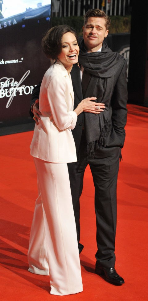 <p><strong>January 2009</strong><p> At the Berlin premiere of <em>The Curious Case of Benjamin Button.</em>