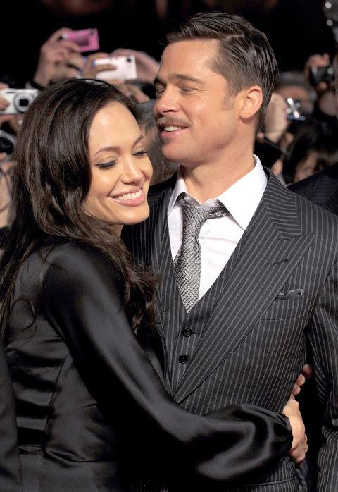 <p><strong>January 2009</strong><p> At the Japan premiere of <em>The Curious Case of Benjamin Button. </em>