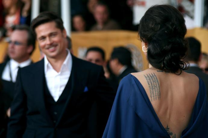<p><strong>January 2009</strong><p> At the Screen Actors Guild Awards.