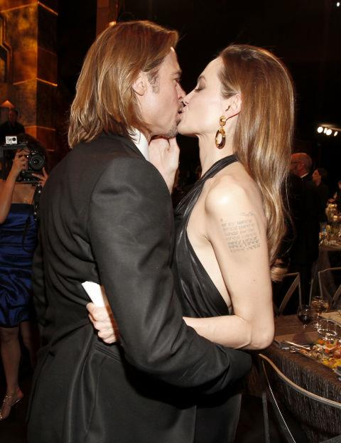 <p><strong>January 2012</strong><p> At the Screen Actors Guild Awards.