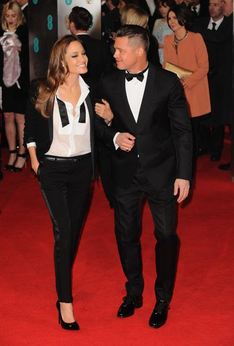 <p><strong>February 2014</strong><p> At the British Academy Film Awards.