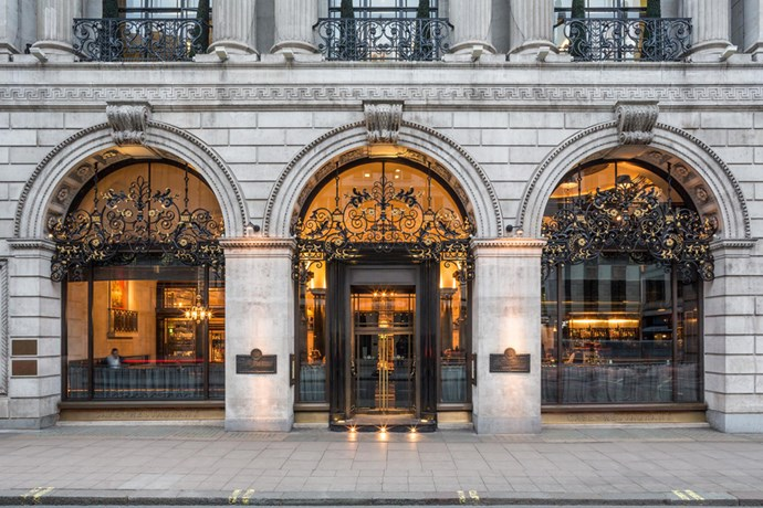"""<strong><a href=""""http://www.opentable.com/the-wolseley"""">The Wolseley</a></strong><br> Where: 160 Piccadilly, London<br> Model customers: Lily Cole<br>"""
