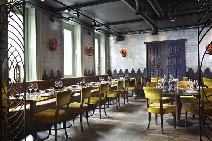 """<strong><a href=""""http://www.opentable.com/coya-london"""">Coya</a></strong><br> Where: 118 Piccadilly<br> Model customers: Jourdan Dunn"""
