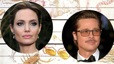 An Astrologer's Take On Angelina Jolie And Brad Pitt's Divorce