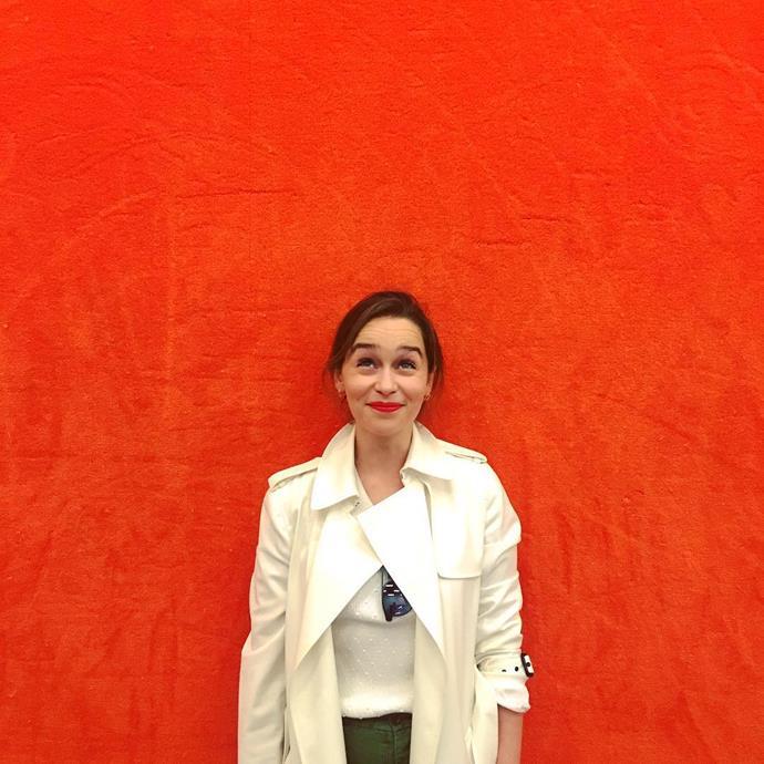 <p>Emilia Clarke is living her best life on Instagram. Get to know her beyond being Daenerys Targaryen.