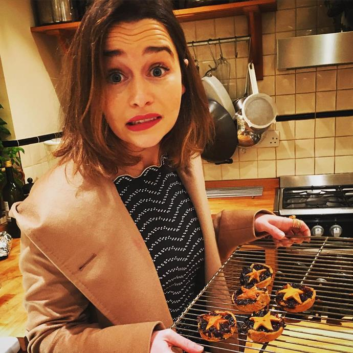"""<p>She probably won't be <a href=""""https://www.instagram.com/p/_r_oFRo1M5/"""" target=""""_blank"""">releasing a recipe book</a> after killing these mince pies last Christmas."""