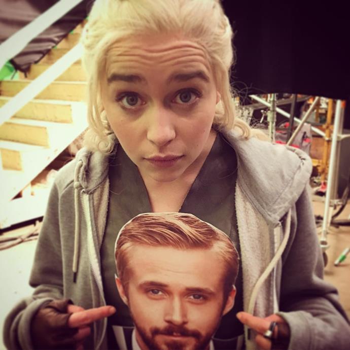 "<p>Even <a href=""https://www.instagram.com/p/BEksDhuo1Pw/?taken-by=emilia_clarke"" target=""_blank"">Ryan Gosling</a> has been to the <em>Game of Thrones</em> set. Sort of."