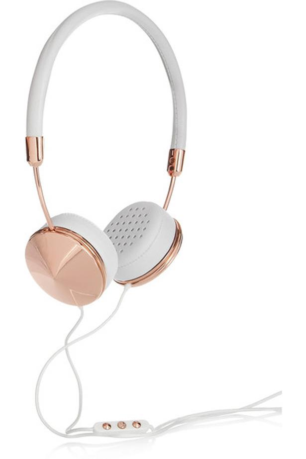 """<p>Apart from the tap on the shoulder from the flight attendant when you land, you'll be blissfully dead to the world with these HD headphones in lush rose gold.<p><br> <a href=""""https://www.net-a-porter.com/au/en/product/487668/frends/layla-leather-and-rose-gold-tone-headphones"""">Headphones, $204, Frends at net-a-porter.com</a>."""