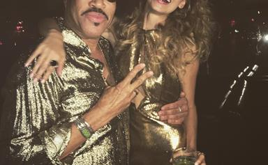 All The Must-See 'Grams From Nicole Richie's Disco-Themed 35th Birthday Party