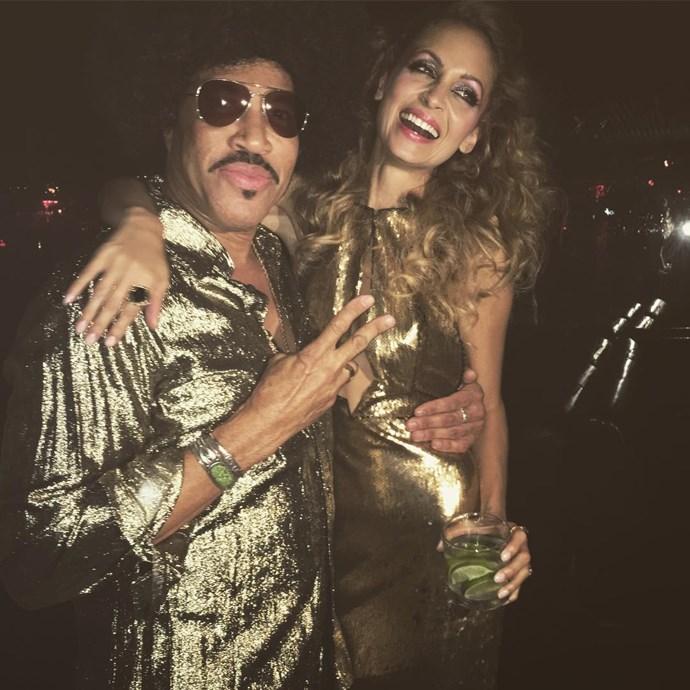 Nicole and Lionel Richie.