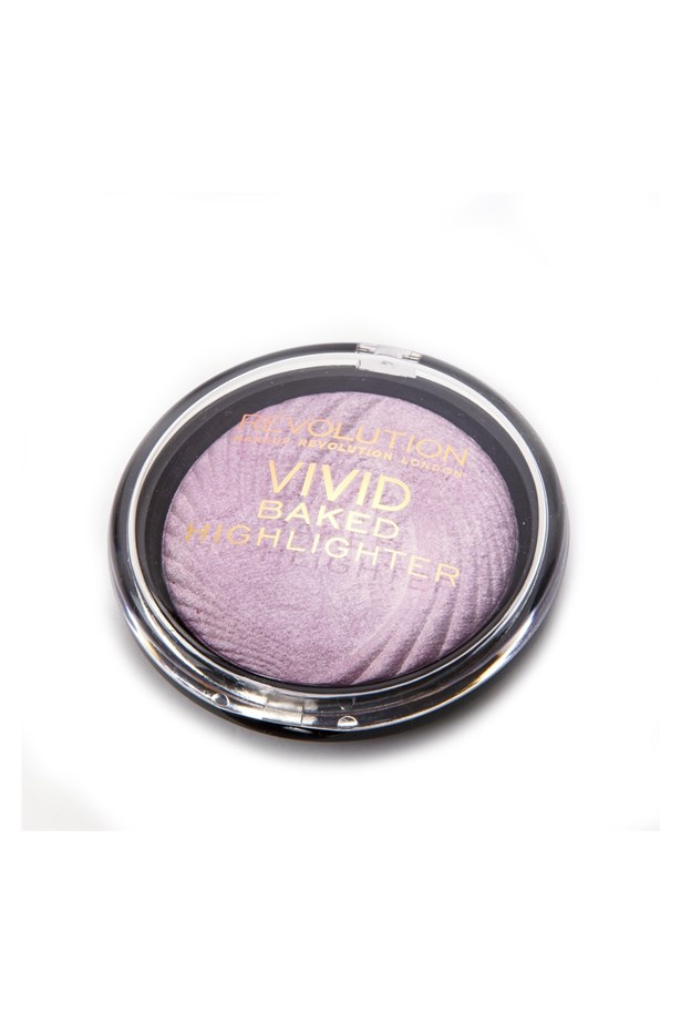 "Baked Highlighter, $5.10, <a href=""https://www.tambeauty.com/en/Makeup-Revolution-Highlighter---Pink-Lights/m-1414.aspx"">Revolution Makeup at tambeauty.com</a>."