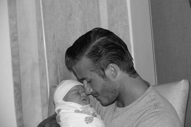 "<p><strong>Harper Seven Beckham</strong> <br><br>Date of birth: 10/07/11 <br><br>Famous parents: Victoria and David Beckham <br><br><a href=""https://twitter.com/victoriabeckham/status/92532461526986752"">Twitter.com/victoriabeckham</a>"