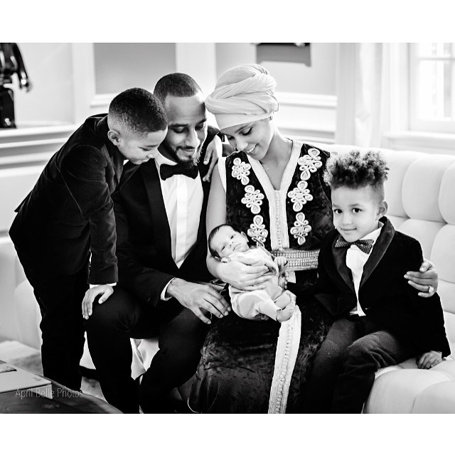 "<p><strong>Genesis Ali Dean</strong> <br><br>Date of birth: 27/12/14 <br><br>Famous parents: Alicia Keys and Swizz Beatz <br><br><a href=""https://www.instagram.com/p/zn6QIvQFpn/"">Instagram.com/aliciakeys</a>"