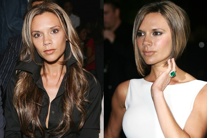 Ah, Victoria Beckham and the cut that launched a thousand mums into their hairdressers. Introducing the 'Pob' (Posh bob, keep up).