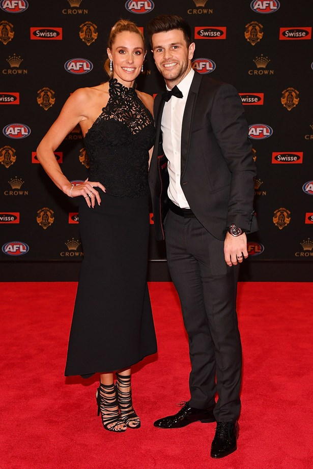 Trent and Brooke Cotchin.