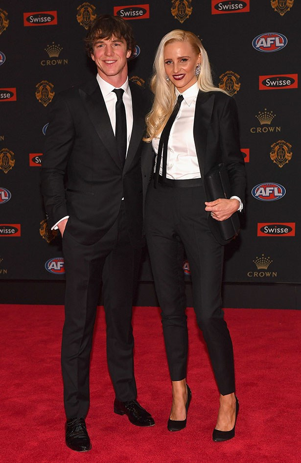 Liam Picken and Annie Nolan.
