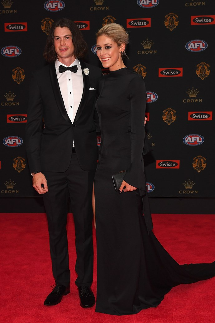 Jasper Pittard and Grace Gowers