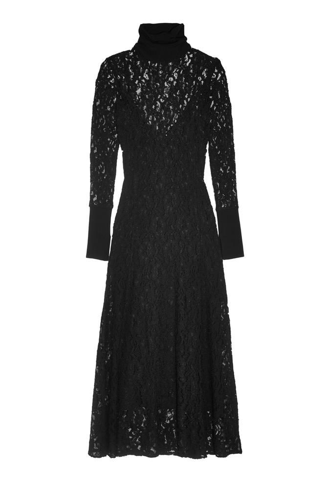 "<a href=""https://www.net-a-porter.com/au/en/product/751299/by_malene_birger/palomos-corded-lace-midi-dress"">Dress, $413, By Malene Birger at net-a-porter.com</a>"
