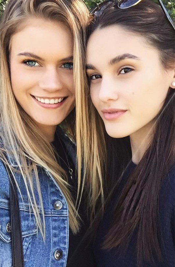 Jordan Simek and Aleyna Fitzgerald Australia's Nexy Top Model 2016