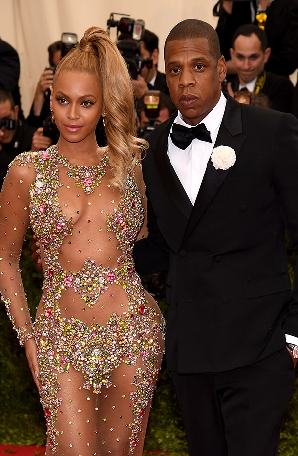 """<p><strong>Beyoncé and Jay Z</strong> <p>Beyoncé and Jay Z were in their beach clothes when they <a href=""""http://www.usmagazine.com/celebrity-news/news/beyonce-jay-z-crash-bride-wedding-italian-vacation-pictures-201489"""">stumbled across a wedding</a> happening inside a small church while on holiday in Italy in 2014. The bride has a now-iconic photo with Beyoncé on her wedding day."""