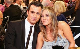 Jennifer Aniston and Justin Theroux.
