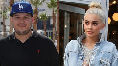 Why Rob Kardashian Rage-Tweeted Kylie Jenner's Phone Number Last Night