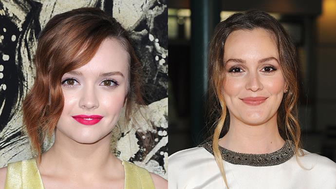 Olivia Cooke and Leighton Meester.
