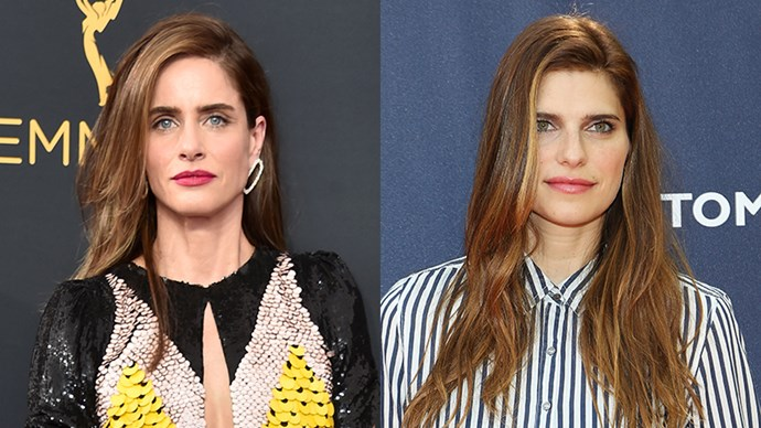 <p>Amanda Peet and Lake Bell.